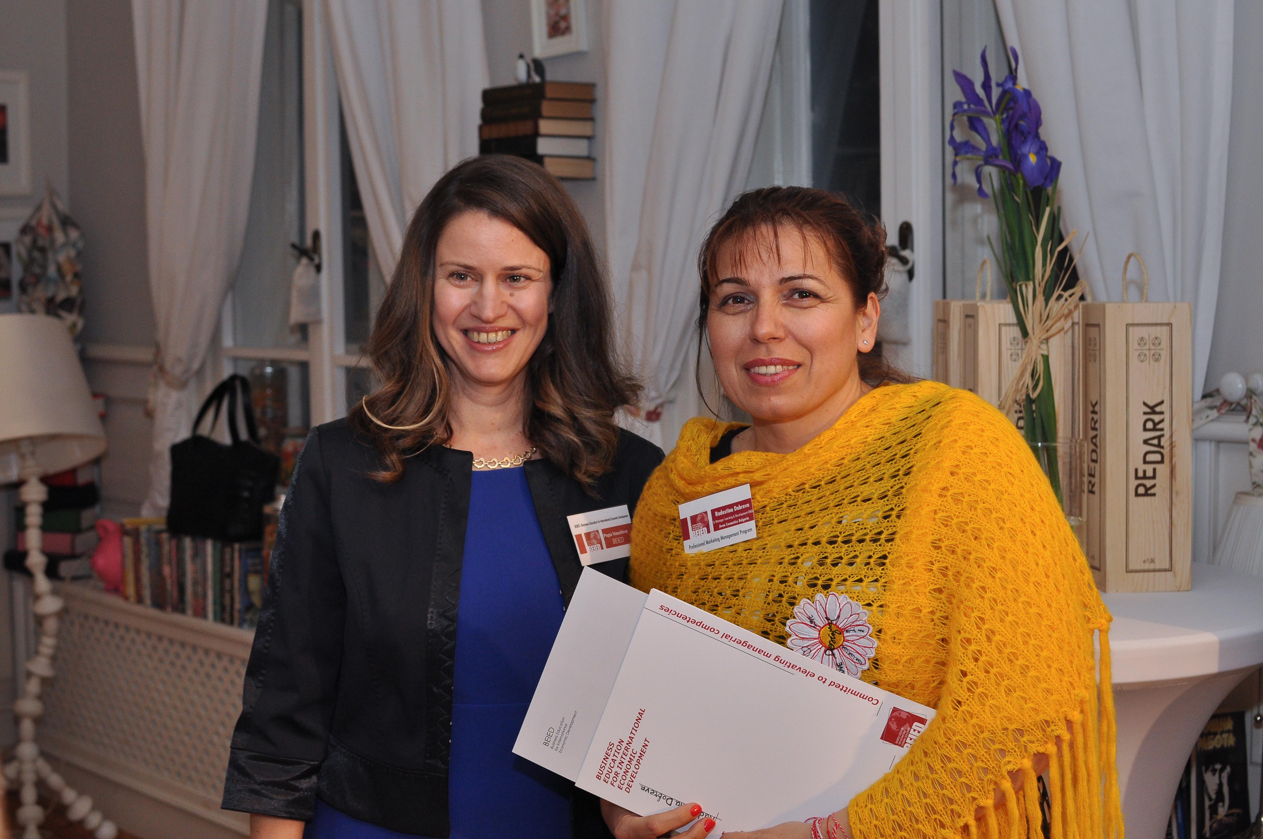 Radostina Dobreva SrManager Learning and Development EMEA Avon Cosmetics Bulgaria