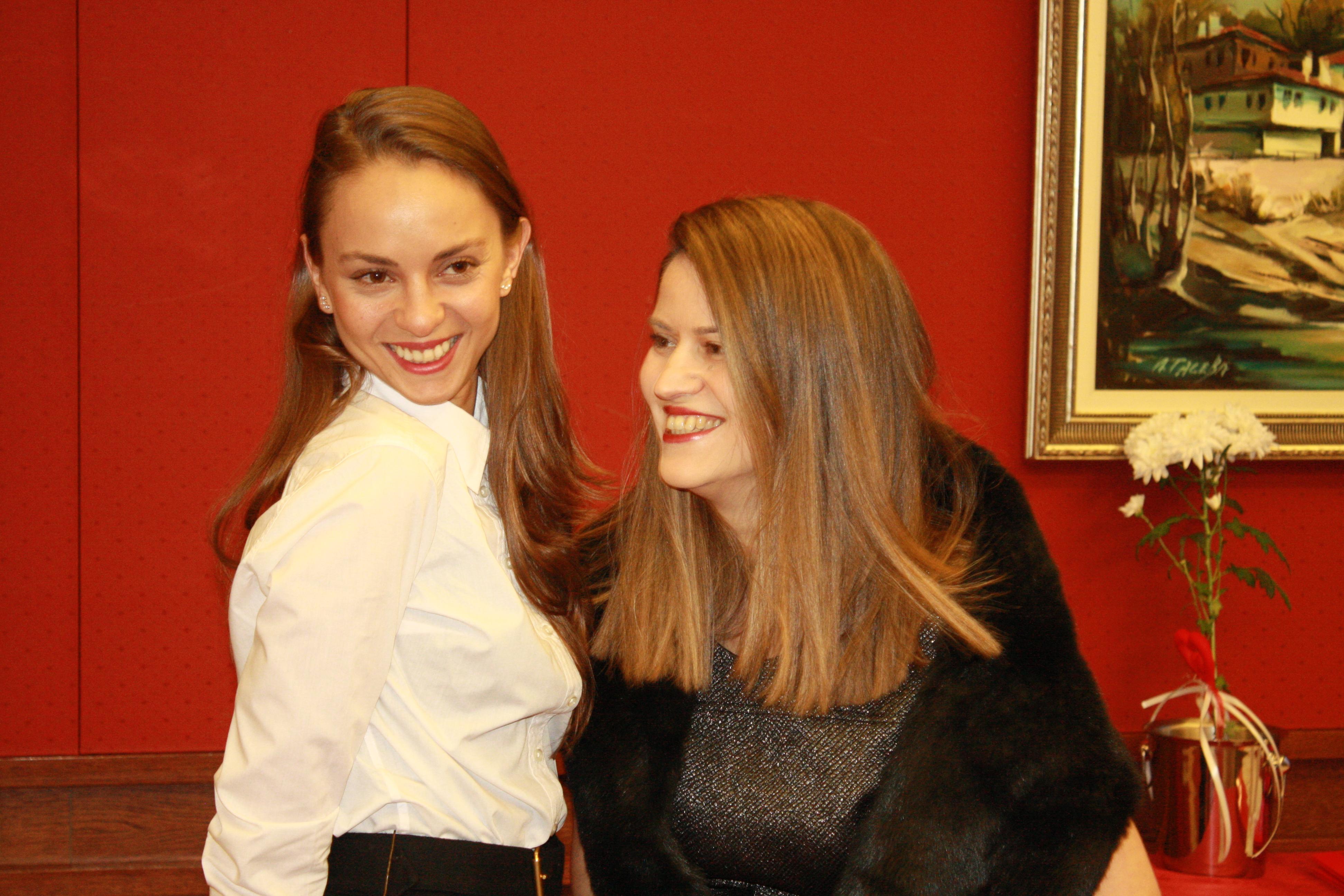 Yana Kuzova and Pepa Vassileva