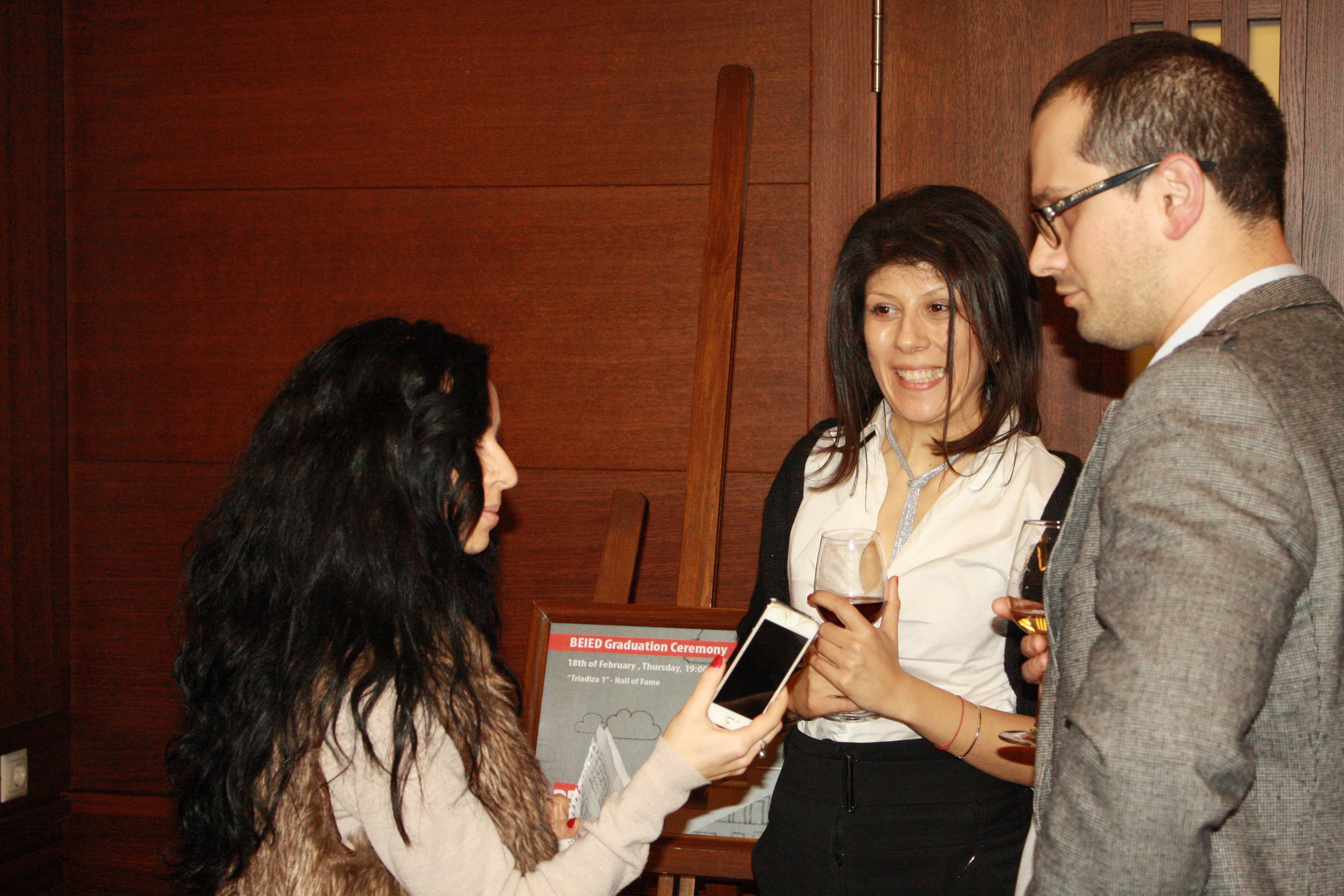 Uchi.bg doing interview
