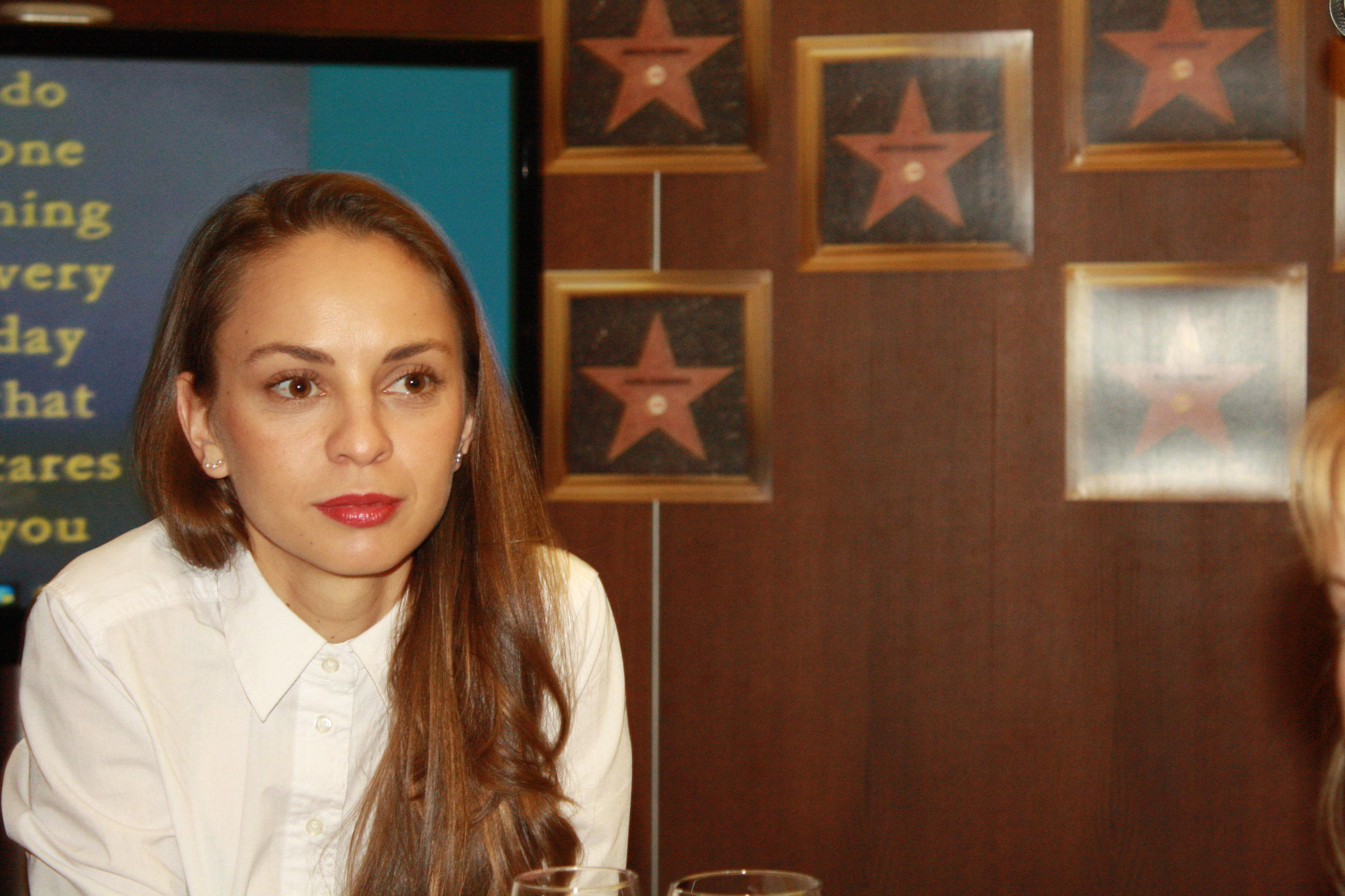 Actress Yana Kuzova