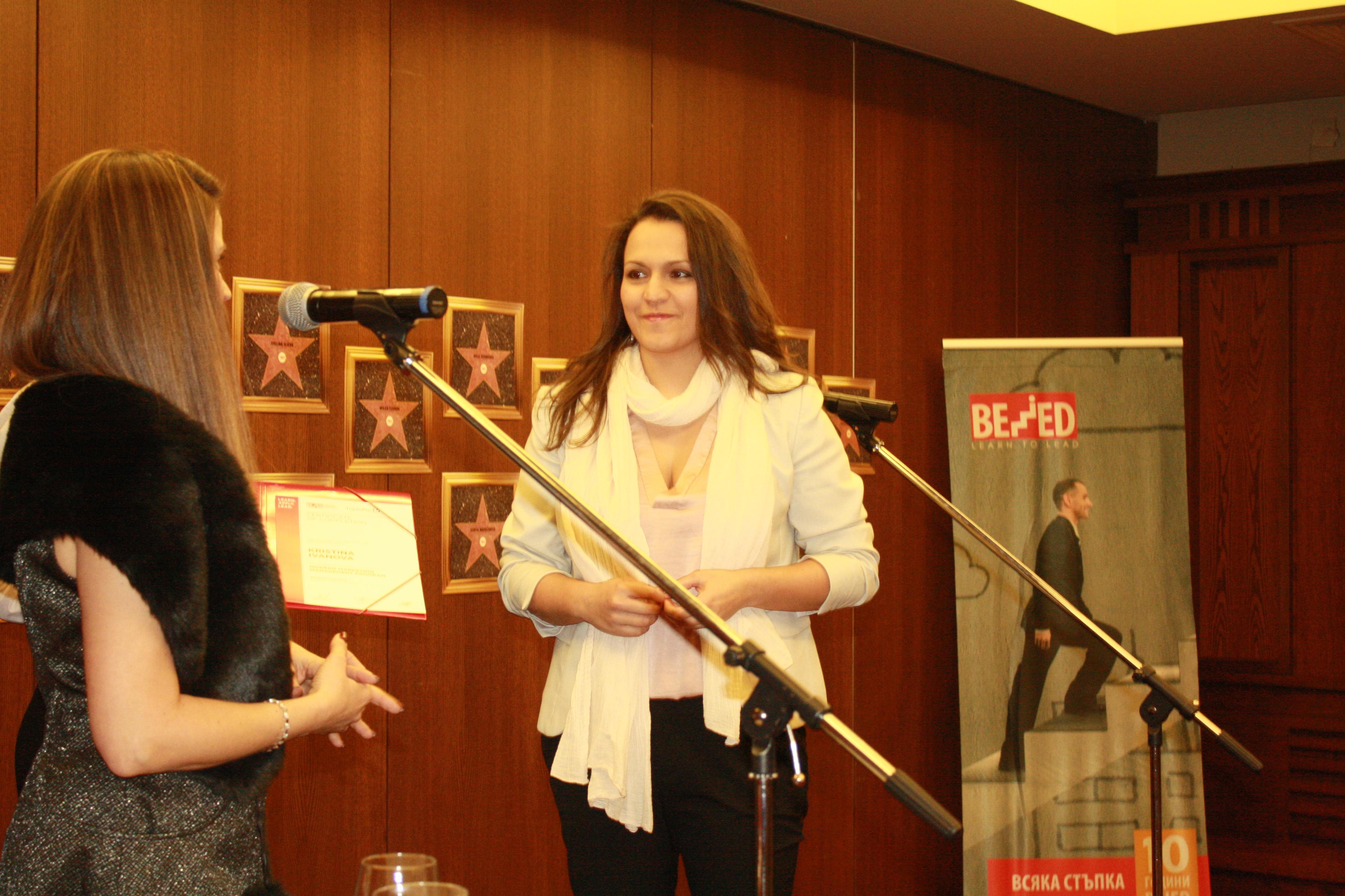 Kristina Ivanova - MMM graduate