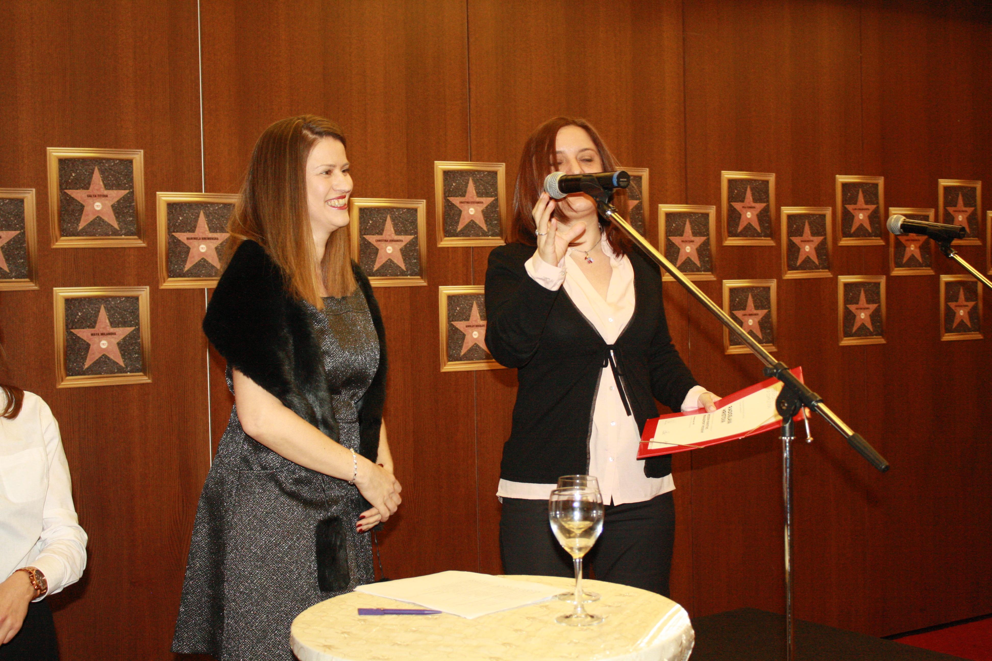 Radoslava Hristova MMM graduate