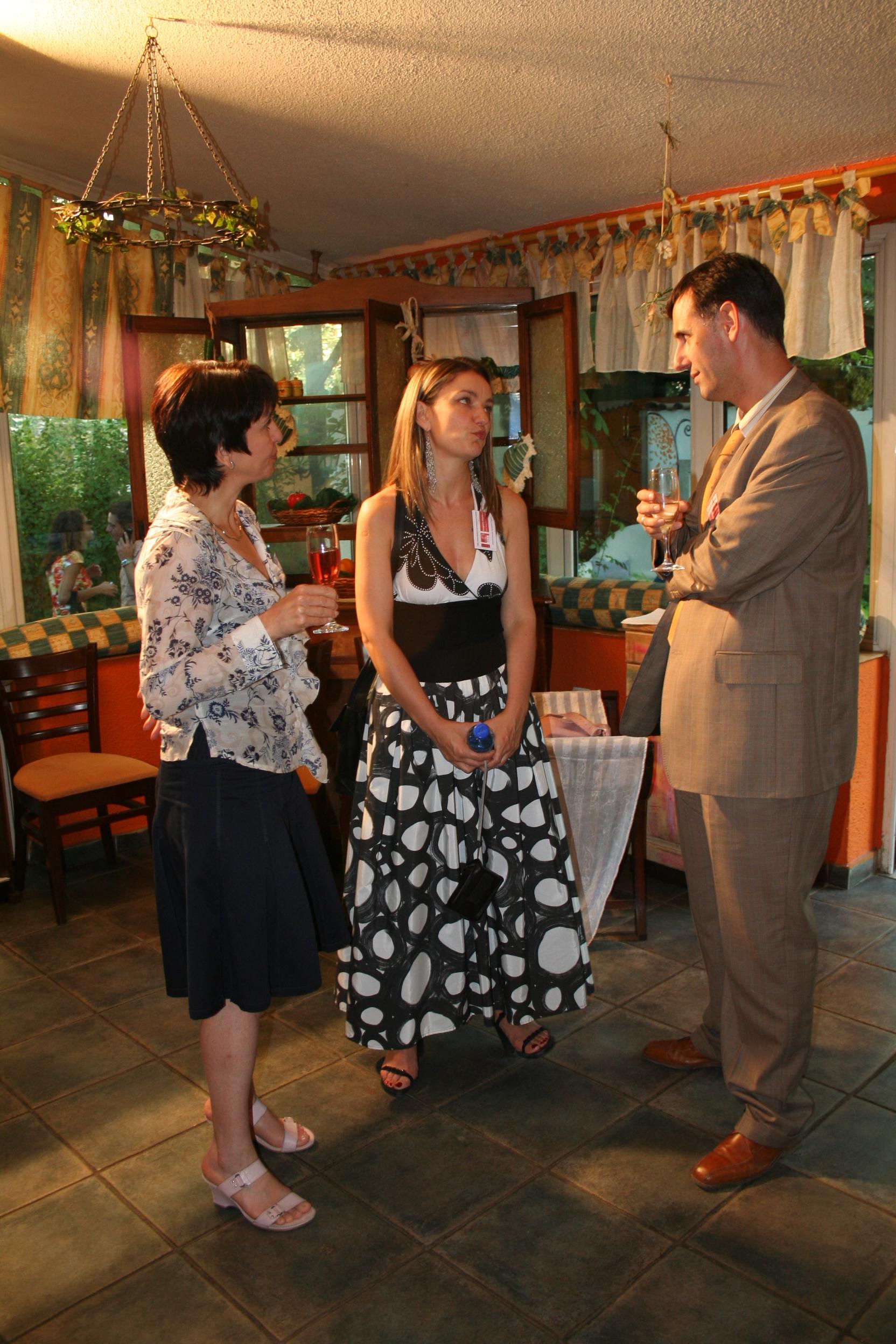 Stefan Vassilev, Gergana Ivanova and Valeria Jekova