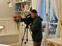 The profefsional camera man Valentin Goranov
