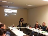 Dessi Boshnakova in class